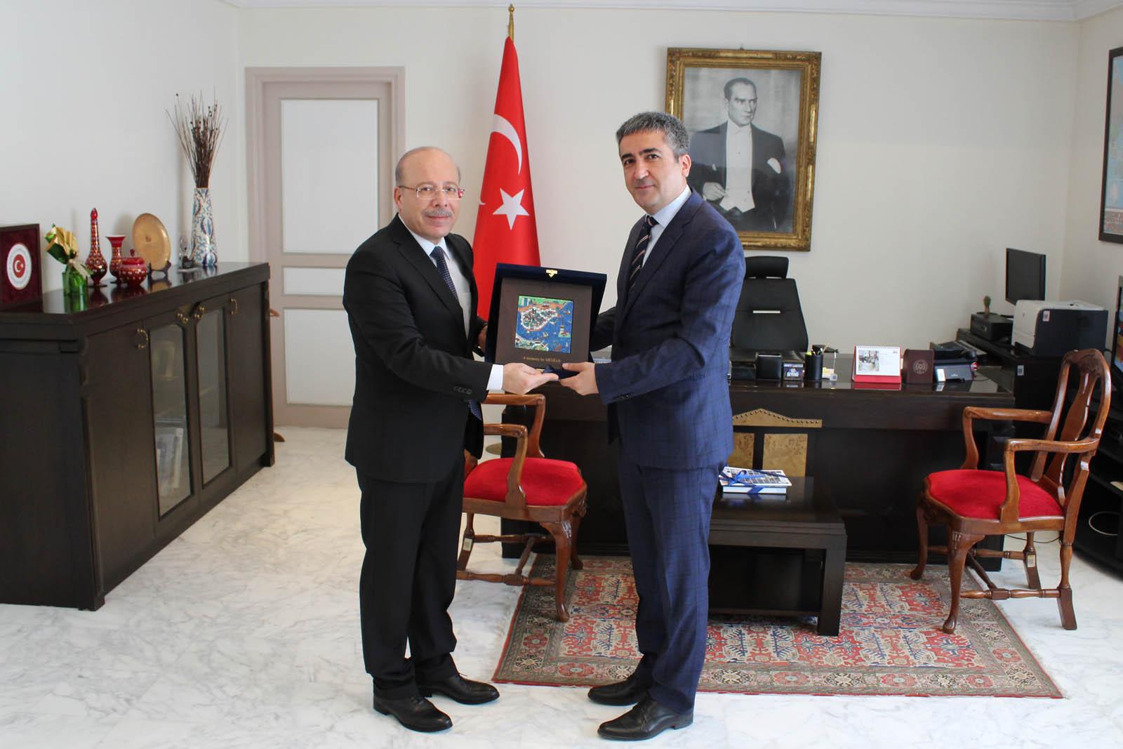Business delegationTunisia nauthorities – Tunisia