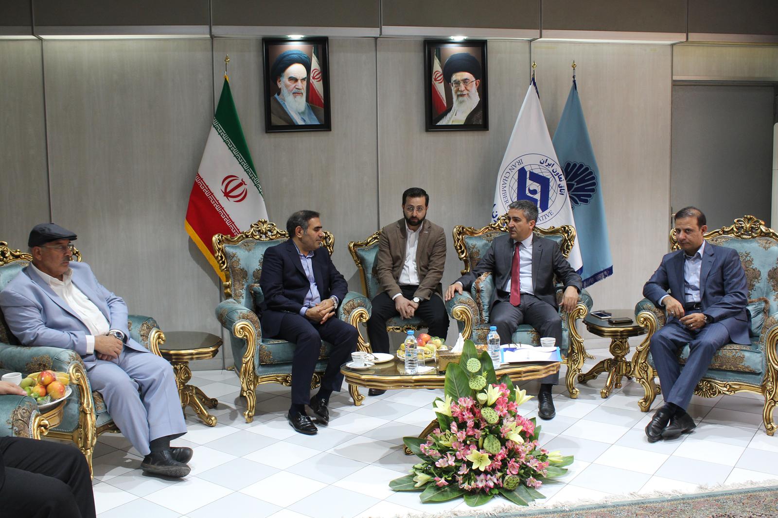 Visite de la foire internationale du bâtiment et forum Taavvun - Téhéran- IRAN